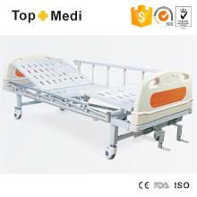 Cama de hospital de aço de duas funções da mobília do hospital de Topmedi