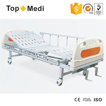 Cama de hospital de acero de dos funciones de los muebles del hospital de Topmedi