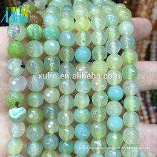 cristal cuarzo 10mm facetas piedras preciosas redondas joyas de piedra cuentas