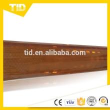 revestimiento reflectante prismático de alta intensidad marrón