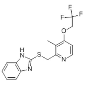 1H-Benzimidazole,2-[[[3-methyl-4-(2,2,2-trifluoroethoxy)-2-pyridinyl]methyl]thio]- CAS 103577-40-8?