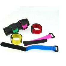 Voltar para trás Impresso Auto-Locking Hook & Loop Tape Cable Tie