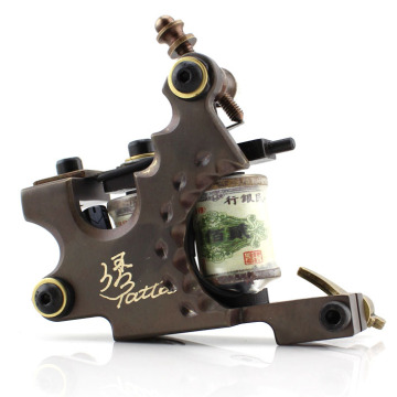 Pure Handmade CNC Brass Fine Workmanship Coil Tattoo Machine Gun