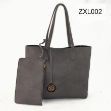 Venta caliente nuevo diseñador moda señora compras viajes hombro PU bolsos Zxl002