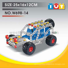 Intelligence toy alloy DIY jeep toy for kids