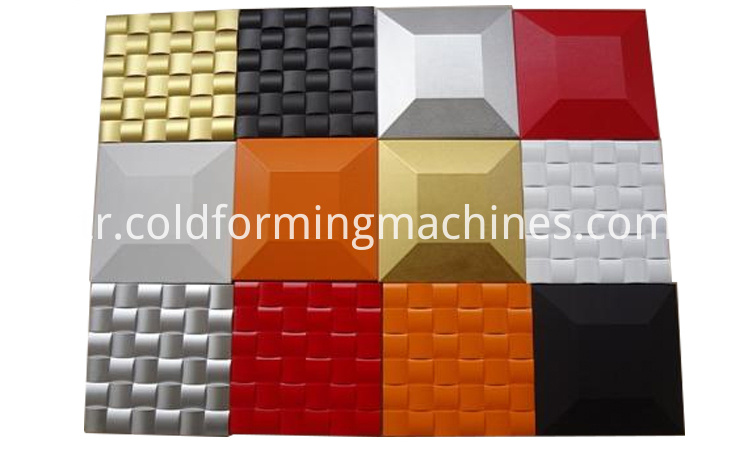 8 decoration 3d wall panel machine