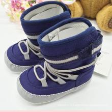 Chaussures de bébé pour garçon Bottes de bébé Bottes de bébé d'hiver Kx715 (9)