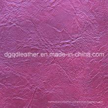 Top Selling Semi-PU Furniture Leather (QDL-51102)