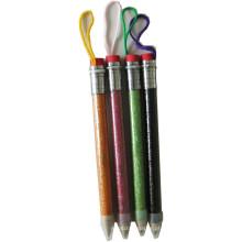 Artigos de papelaria infantil para crianças, Mini lápis Jumbo com glitter barral, lápis colorido