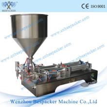 Machine de remplissage semi-automatique à pâte pneumatique en acier inoxydable