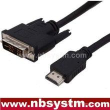 Adaptador de cabo HDMI para DVI com baixo preço