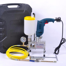 Waterproof project SL-600 with Hitachi Drill spray foam insulation machine injection machine