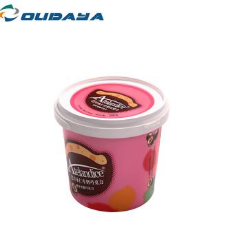 Iml plastic butter yogurt bucket ice cream container