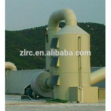 Depurador de gas industrial con filtro de gas FRP