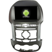 Reproductor de DVD del coche Android System para FORD Ranger con GPS, Bluetooth, 3G, iPod, juegos, zona dual, control del volante