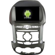 Leitor de DVD do carro do sistema de Android para a guarda florestal de FORD com GPS, Bluetooth, 3G, iPod, jogos, zona dupla, controle de volante