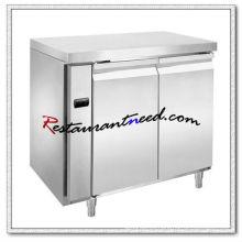 R306 2 puertas lujoso Fancooling refrigerador / congelador debajo del mostrador