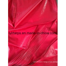 Good Waterproof Red PE Tarpaulin Cover