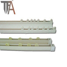 Hardware Vorhang Spray White Slider (TF 1811)