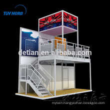 design & cusomtize reusable ShangHai exhibit booth design and construction