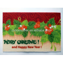 Christmas theme carpet, Christmas printing carpet, Festival gift carpet