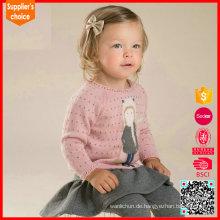 Neueste Mode Herbst absolut Kaschmir Pullover stricken Muster Kaschmir Top