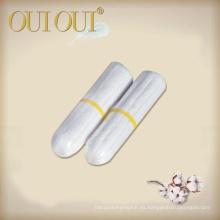 Fábrica China de los tampones digitales absorbentes estupendos del grado médico fábrica