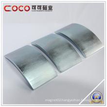 Segment Permanent Neodymium Magnets Arc Neodymium Magnet Coating NI-CU-NI