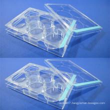 Disposable Sterile Lab Transparent Biochemical Reaction Plate
