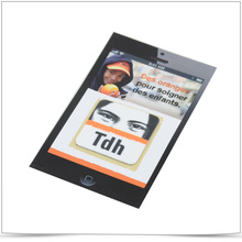 Sticker personnalisé de nettoyage d'écran pour téléphone portable