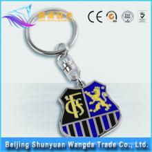 Alibaba Offre Design populaire Porte-clés personnalisé Porte-clés en métal 3D Porte-clés