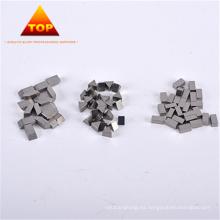 Hojas de sierra de cinta de madera rectangular Aleación de cobalto Punta Sierra