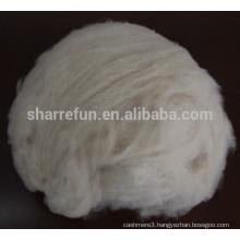 100% cashmere fiber cream color