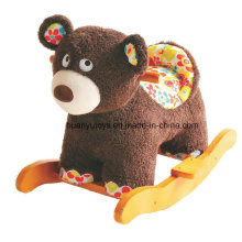 Factory Supply Rocking Horse Toy-Bear Rocker