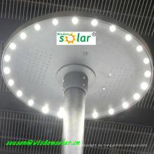 Modische CE Rasen solar LED Licht Beleuchtung mit runden top(JR-CP98) Belag