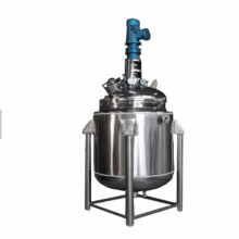 Thermal Oil Heated Chemical Reactor Tank With Motor