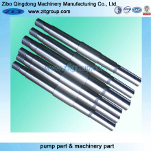 Carbon Steel Machining Shaft for Pumps and Mining Equipments