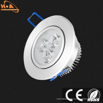 Оптовая энергосберегающие 3W 5W светодиодный прожектор потолка вниз свет