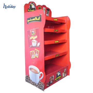 Best selling Cardboard Display rack for chain shop, Pop up Display Stand, Corrugated Paper Display rack