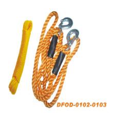 Cuerda de remolque para tirar de un automóvil (DFOD-0102-0103)