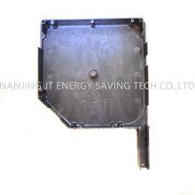 Roller Blinds Accessories/Rolling Shutter Door Parts, 45 Degree/180mm Aluminium End Caps