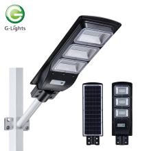 Brilho alto 60w luz de rua solar integrada