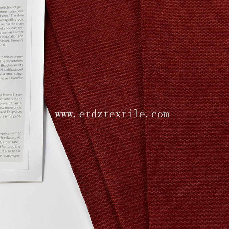 Polyester Home Upholstery Furniture Fabric for Sofa