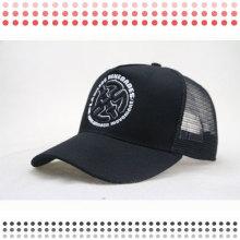 Высокое качество мода черный 6 панели бейсболки для продажи