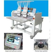 HOLIAUMA broderie usine machine à broder machine textile 2 tête 9 couleur machine à broder informatisé