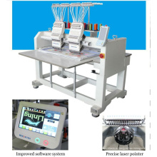 HOLIAUMA вышивальная фабрика вышивальная машина текстильная машина 2 головка 9 цветная компьютеризированная вышивальная машина