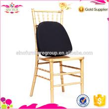 Banquete de madeira Chiavari cadeira com almofada