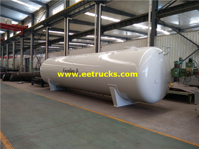 Aboveground Propylene Gas Vessel