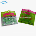 100 Mikron Plastikkapselverpackungsbeutel 3 Seitendichtungsbeutel