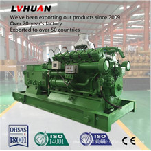 Water Cooler Brushless Coal Bed Gas Generator Set in China